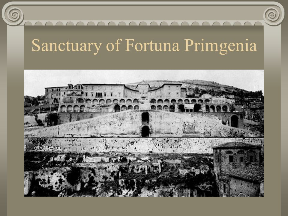 Sanctuary of Fortuna Primgenia