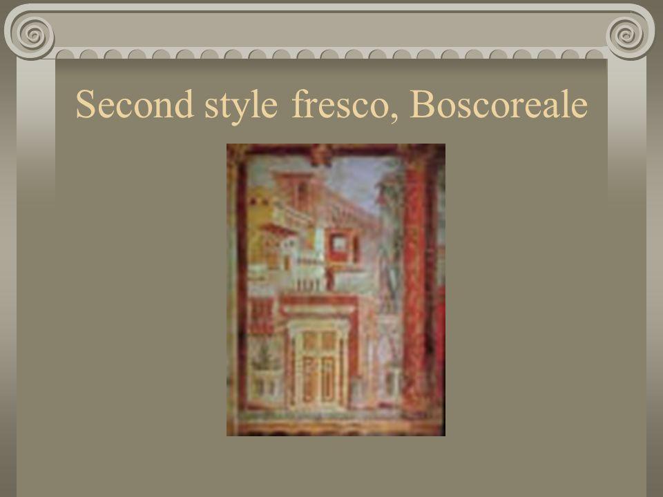 Second style fresco, Boscoreale