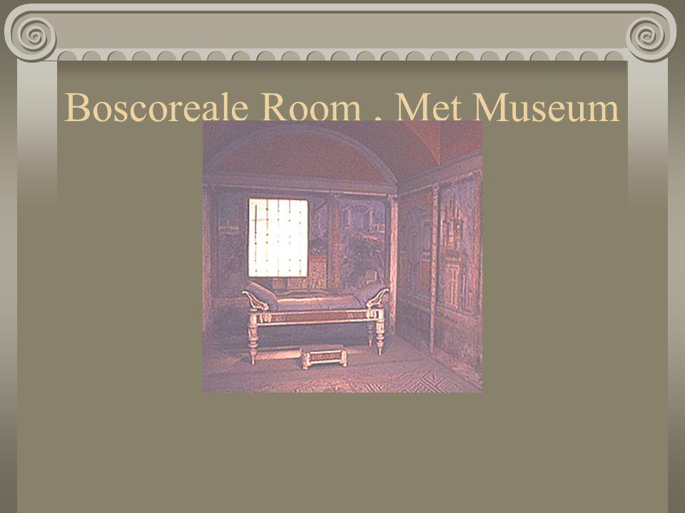Boscoreale Room, Met Museum