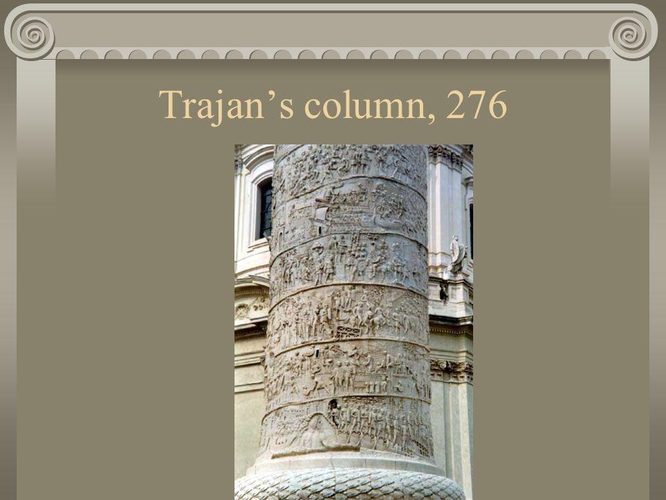 Trajan's column, 276