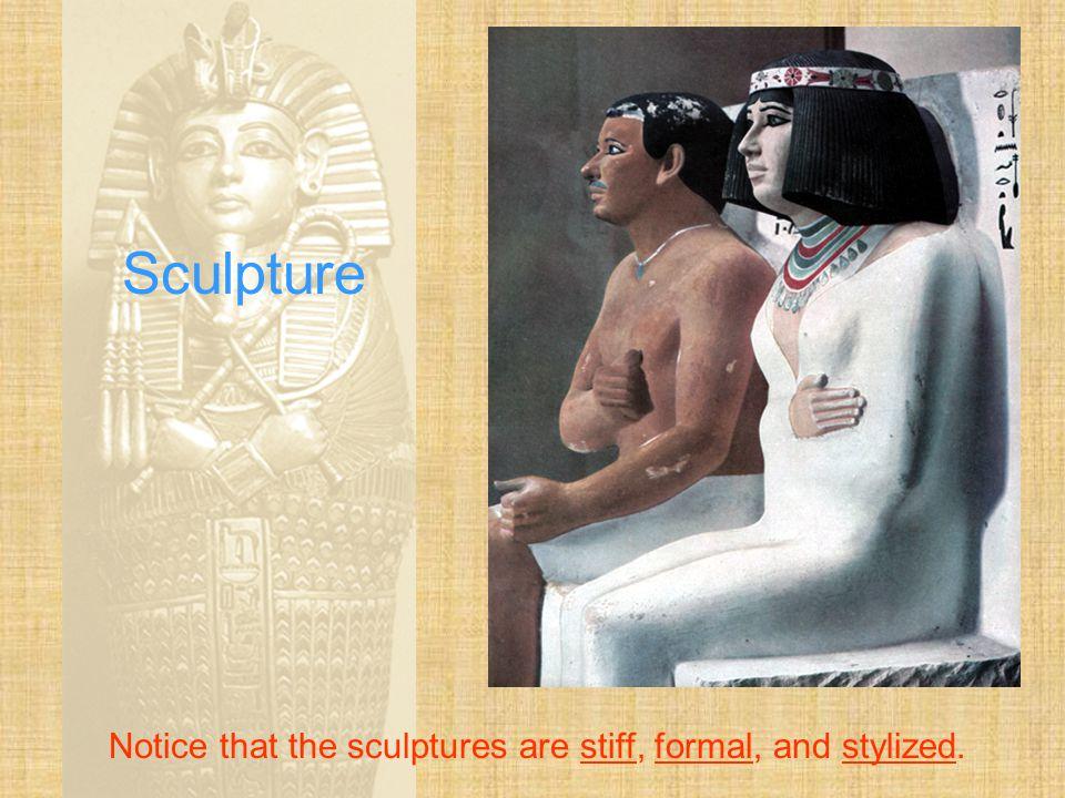 Sculpture This stele shows Ramses II slaying his enemies.