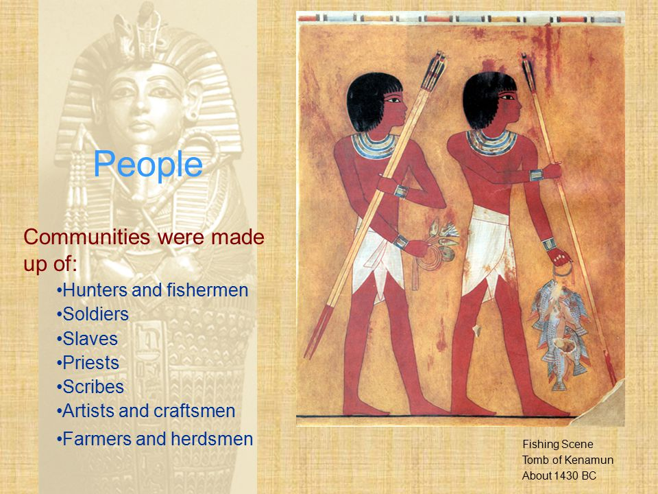 The Egyptians used hieroglyphics and various patterns to decorate the pharaohs' coffins.