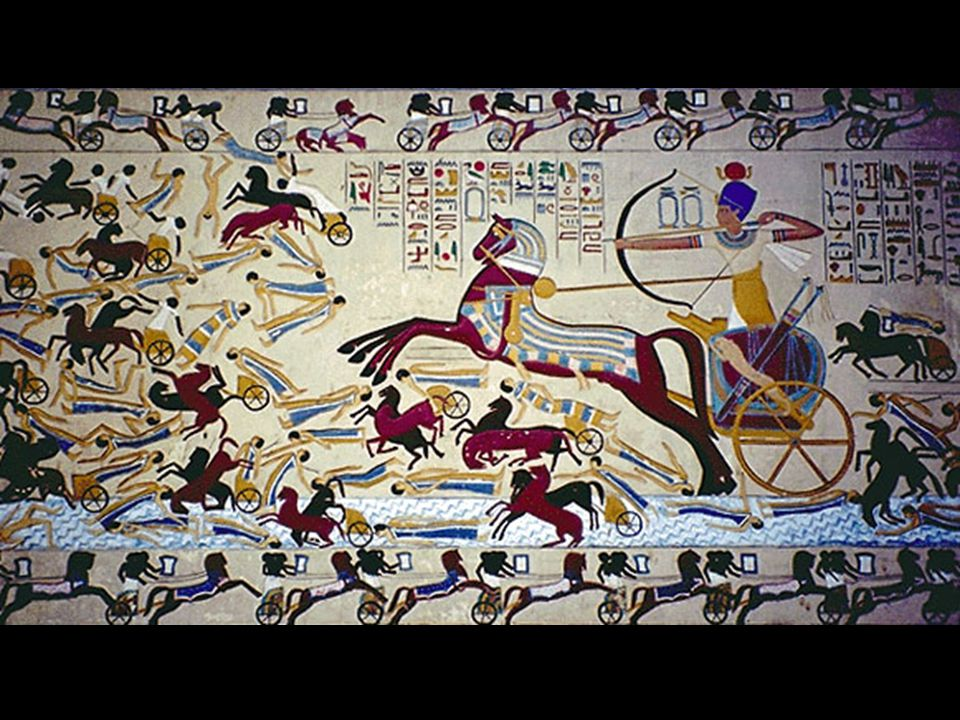 Come with Bronze Weapons Horse Drawn Chariots Considered Hyksos Rule for ~200 yrs