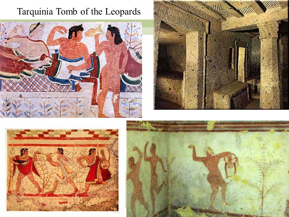 9 Tarquinia Tomb of the Leopards