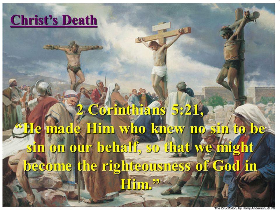 Christ's Death 3rd Heaven - Human Spirit (Luke 23:46, John 19:30) Hades - Soul (Luke 23:43, Acts 2:27,31, Eph 4:9) Tomb - Body (Luke 23:50-53)