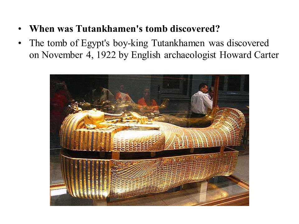 When was Tutankhamen s tomb discovered.