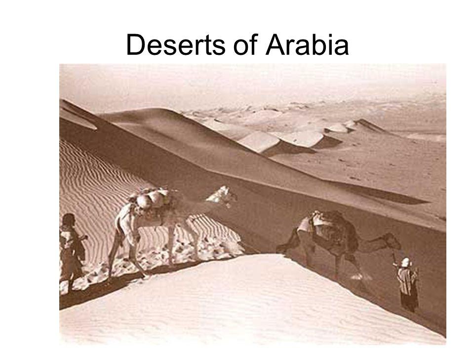 Deserts of Arabia