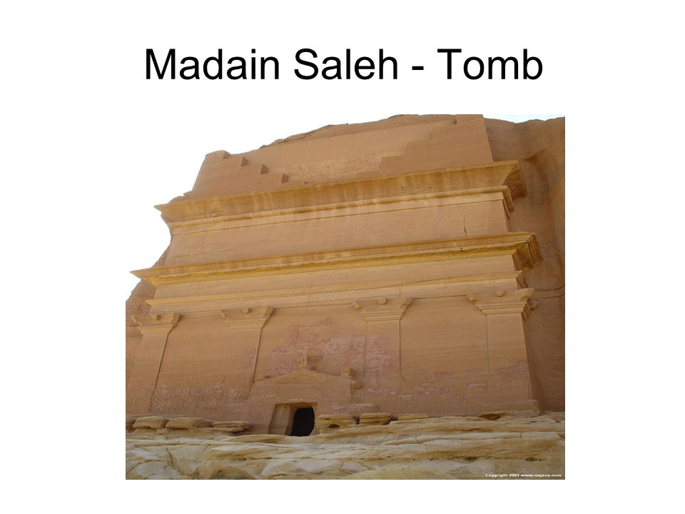 Madain Saleh - Tomb