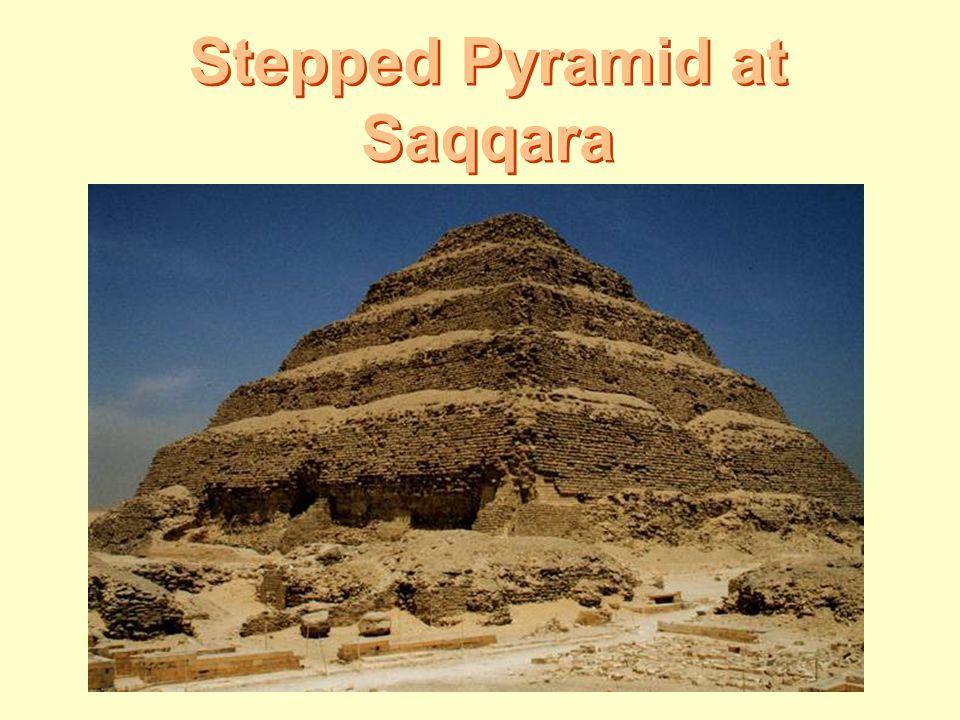 Stepped Pyramid at Saqqara