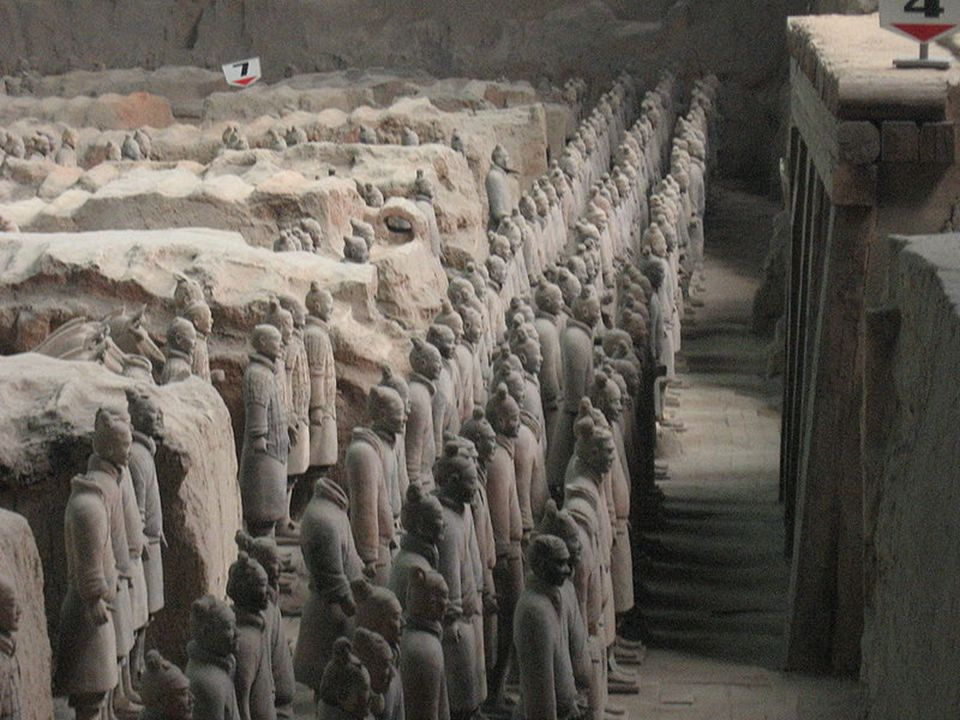 Somewhere beneath this mound lies the emperor's tomb