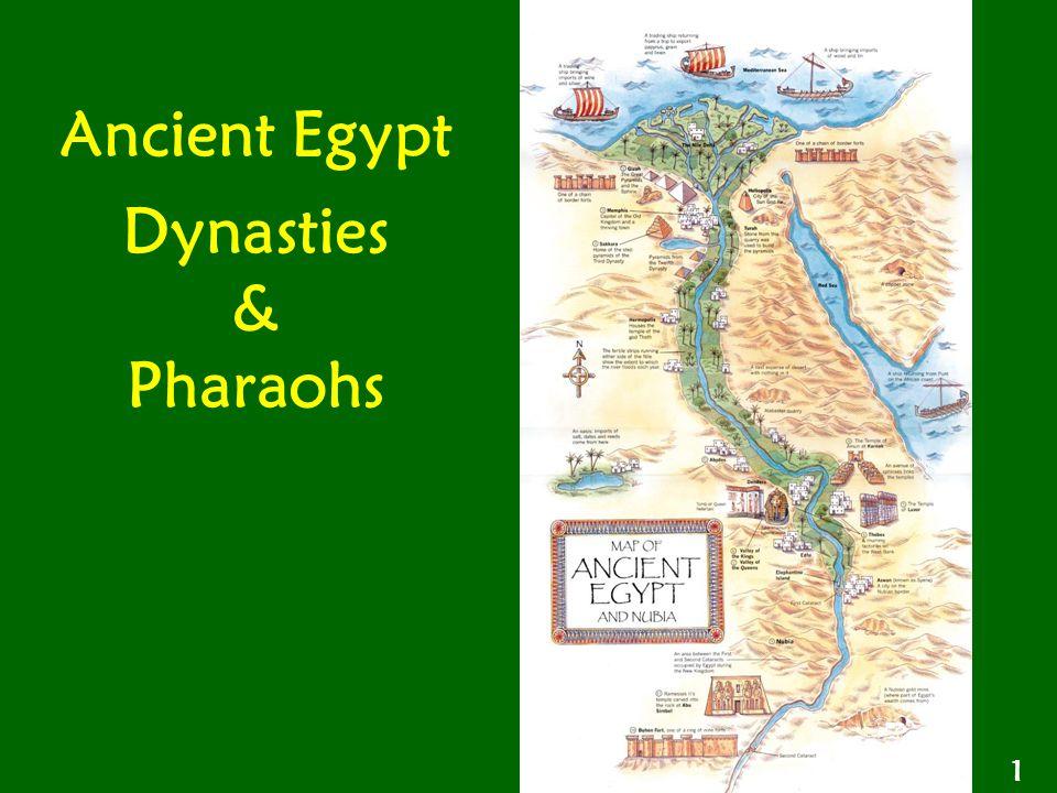 Ancient Egypt Dynasties & Pharaohs 1