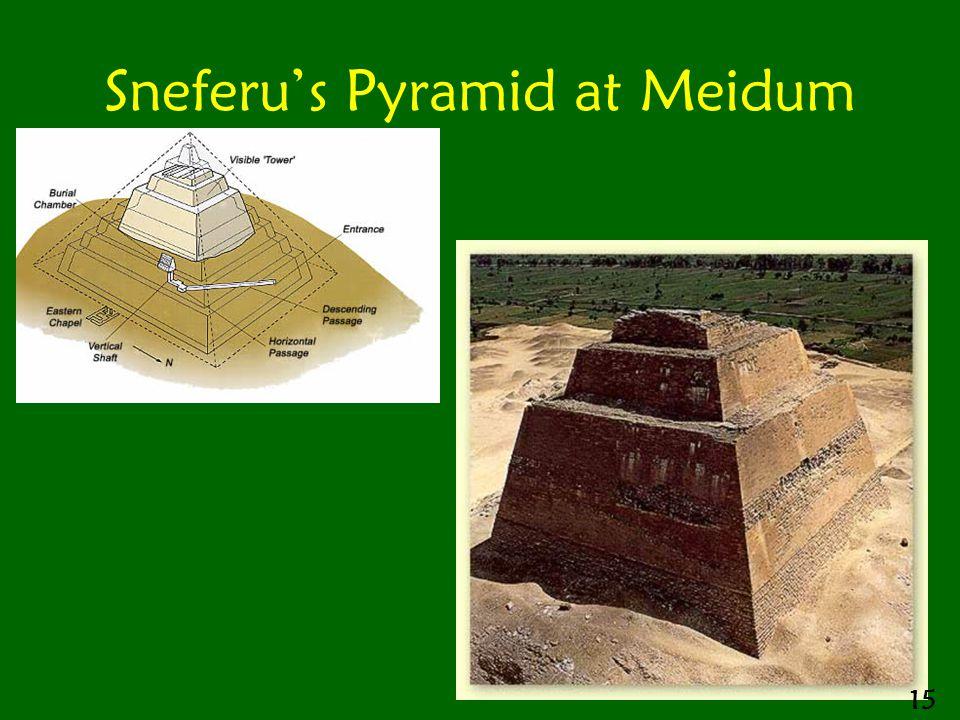 Sneferu's Pyramid at Meidum 15