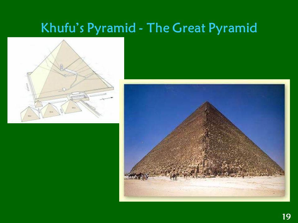 Khufu's Pyramid - The Great Pyramid 19