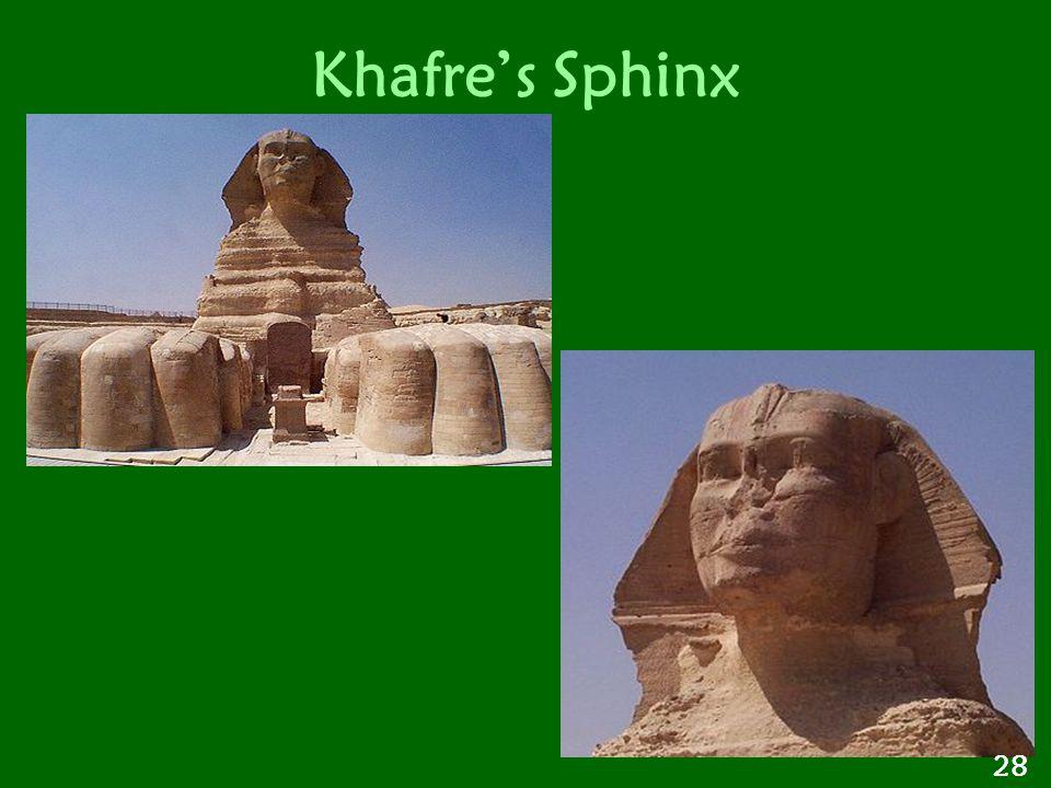 Khafre's Sphinx 28
