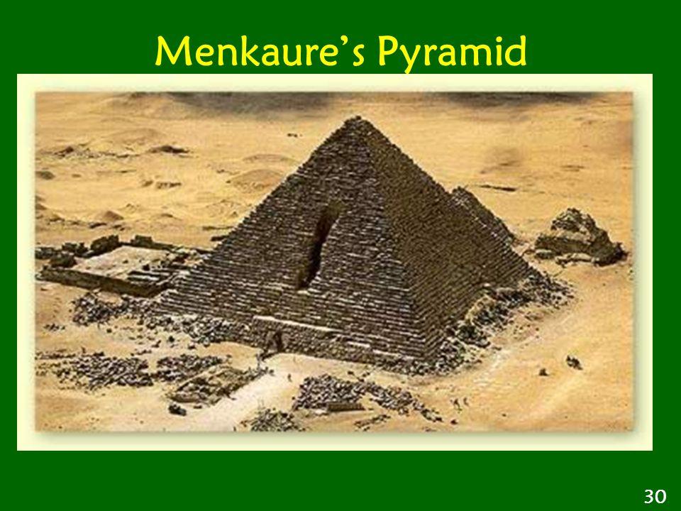 Menkaure's Pyramid 30