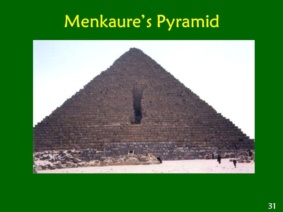 Menkaure's Pyramid 31