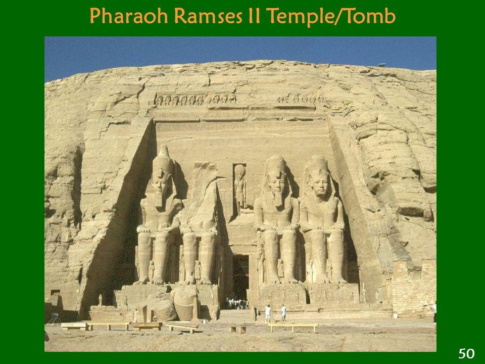 Pharaoh Ramses II Temple/Tomb 50