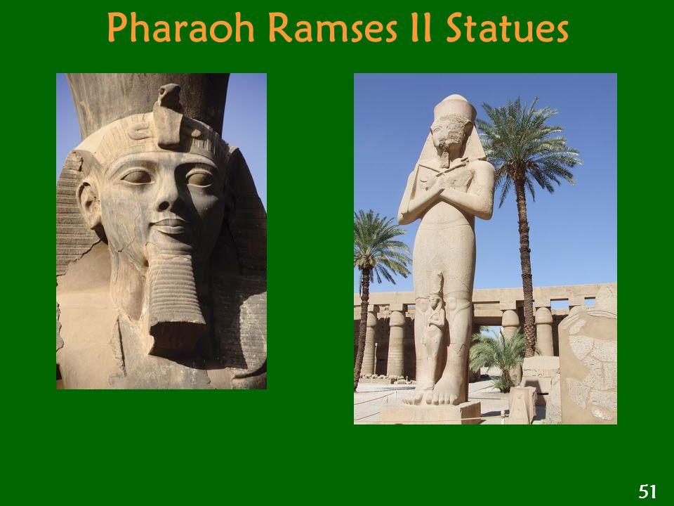 Pharaoh Ramses II Statues 51