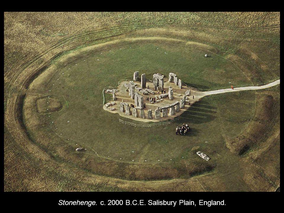 Stonehenge. c. 2000 B.C.E. Salisbury Plain, England.