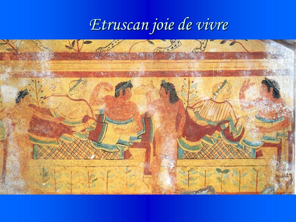 Etruscan joie de vivre