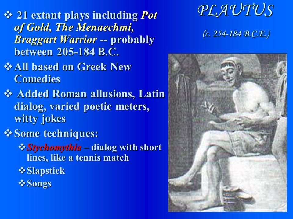 PLAUTUS (c.