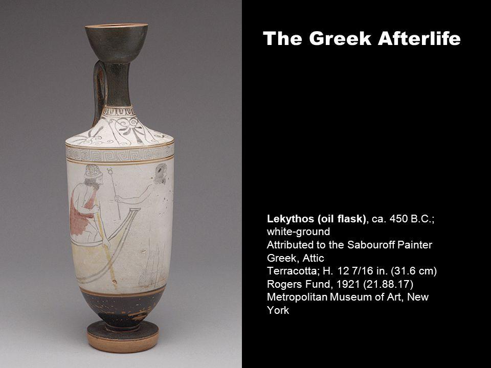Lekythos (oil flask), ca.