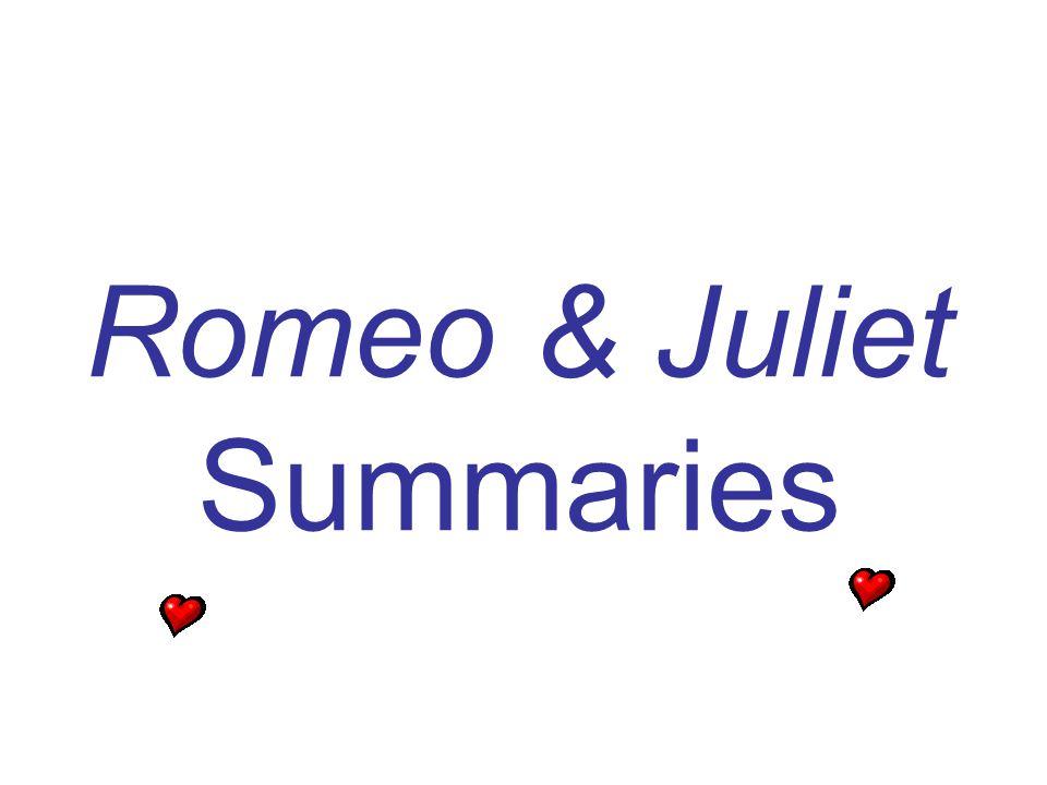 Romeo & Juliet Summaries