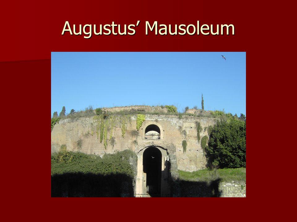 Augustus' Mausoleum