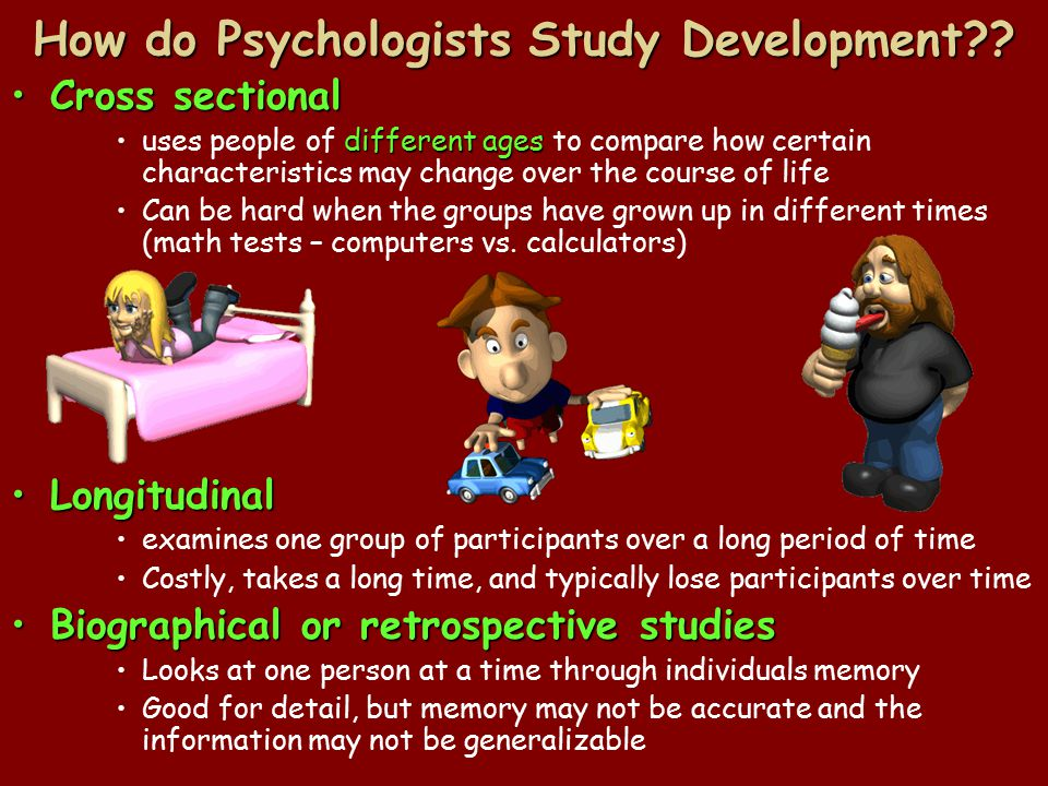 How do Psychologists Study Development?.