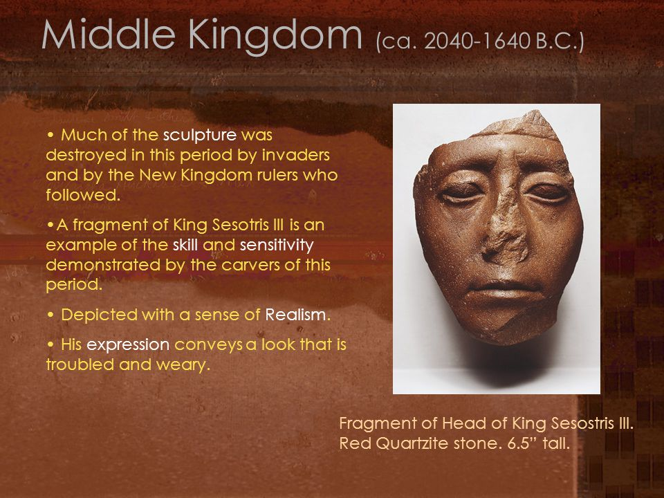 Middle Kingdom (ca.
