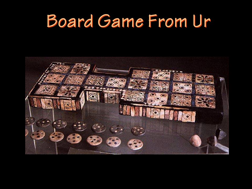 Board Game From Ur