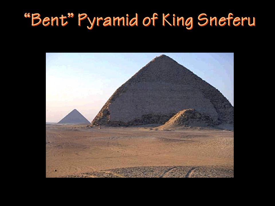 Bent Pyramid of King Sneferu
