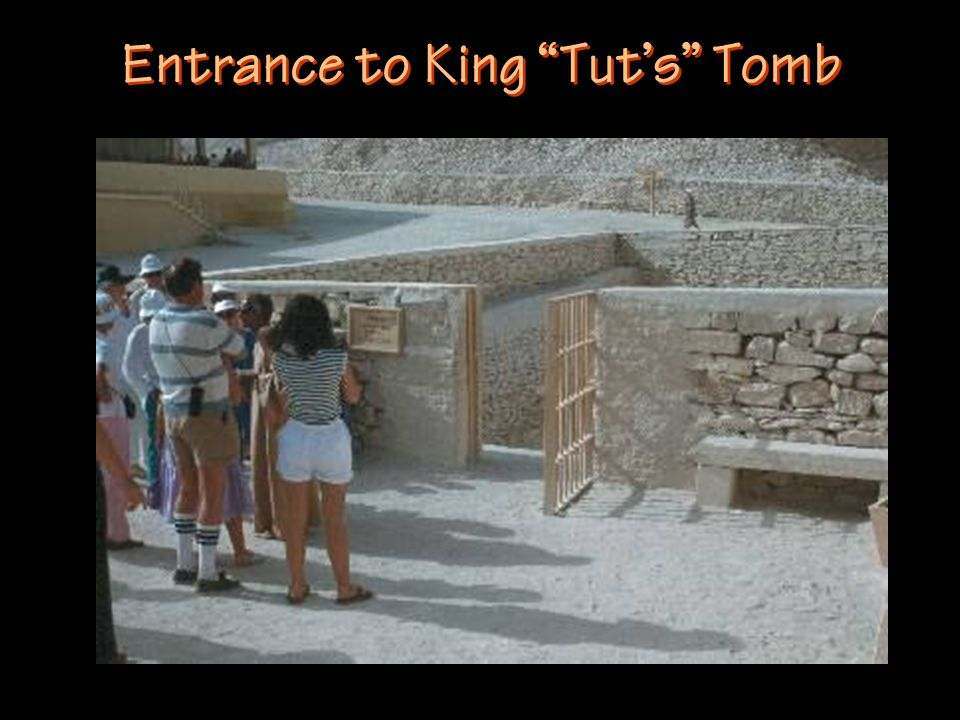 Entrance to King Tut's Tomb