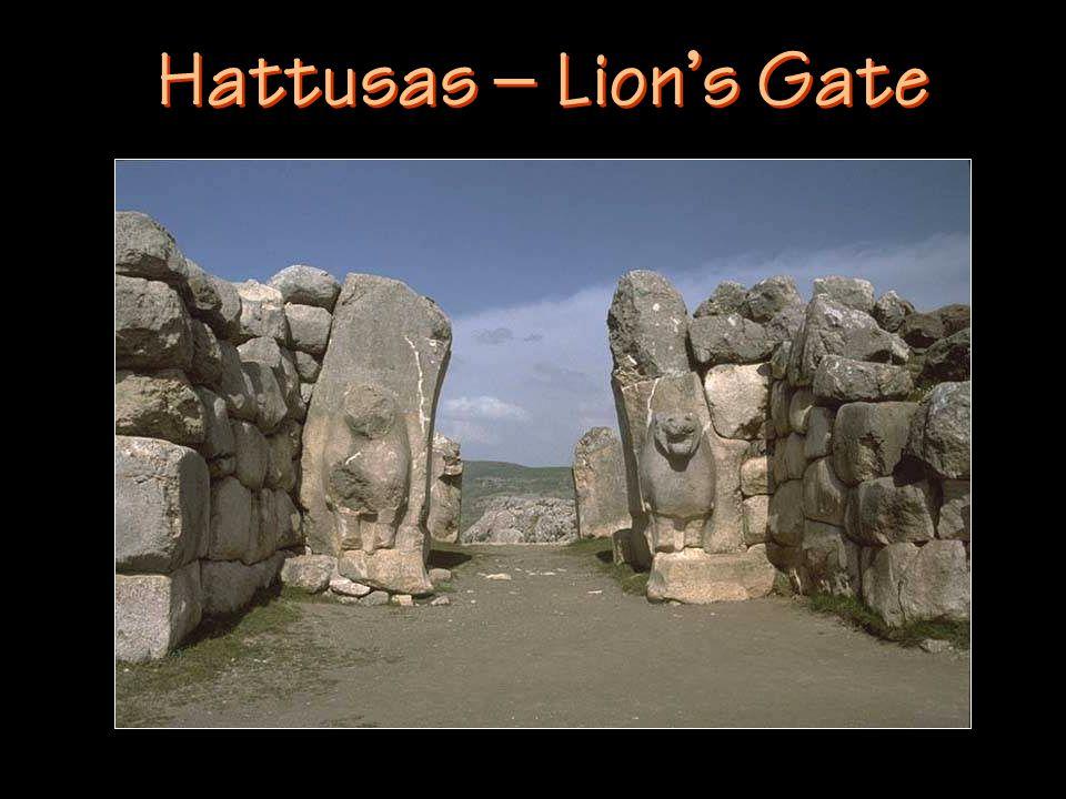 Hattusas – Lion's Gate