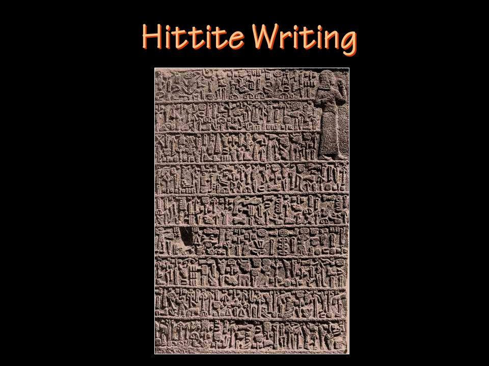 Hittite Writing