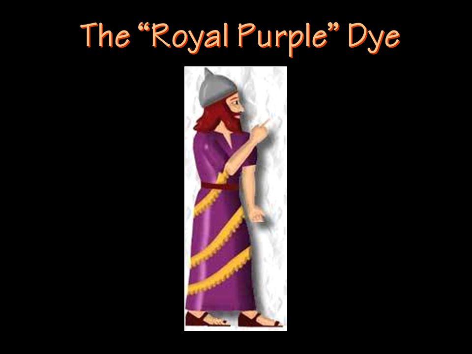 The Royal Purple Dye