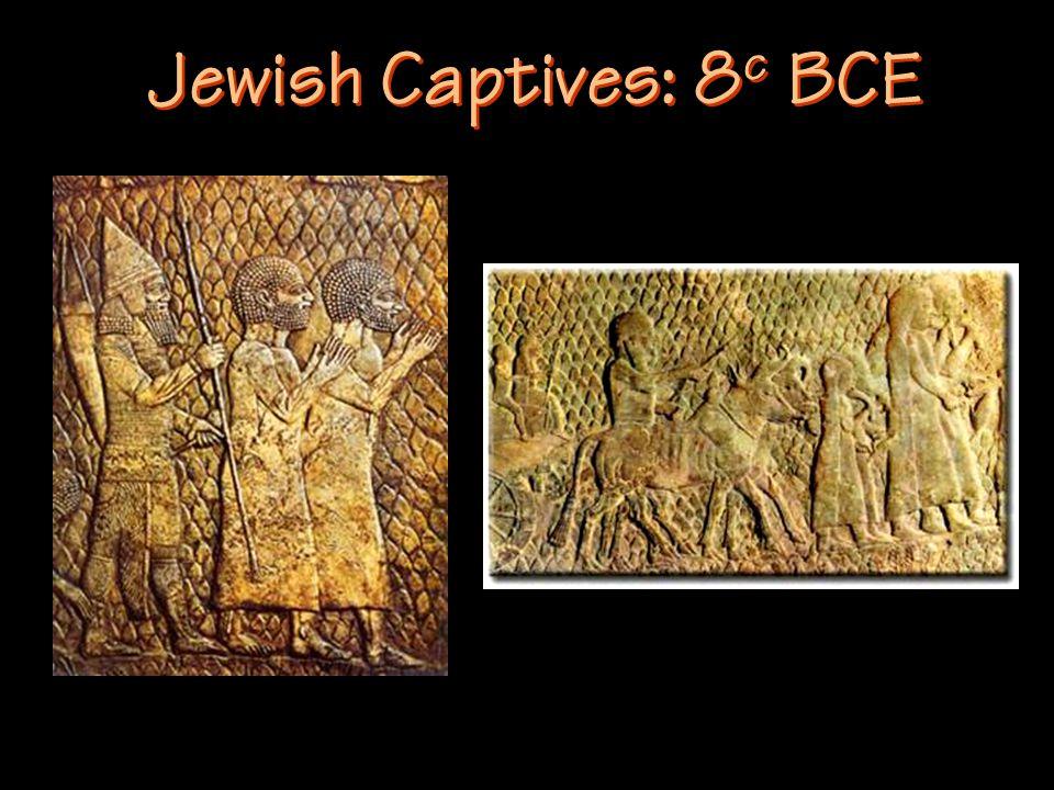 Jewish Captives: 8 c BCE