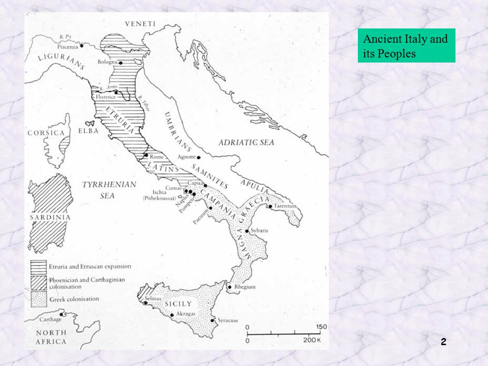 2 Ancient Italy and its Peoples