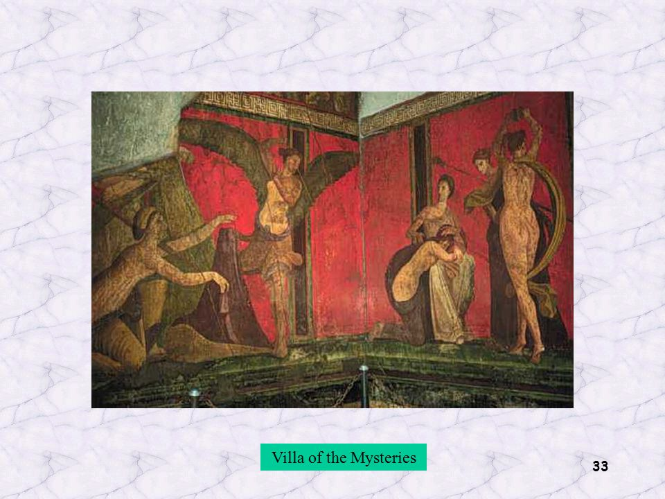 33 Villa of the Mysteries