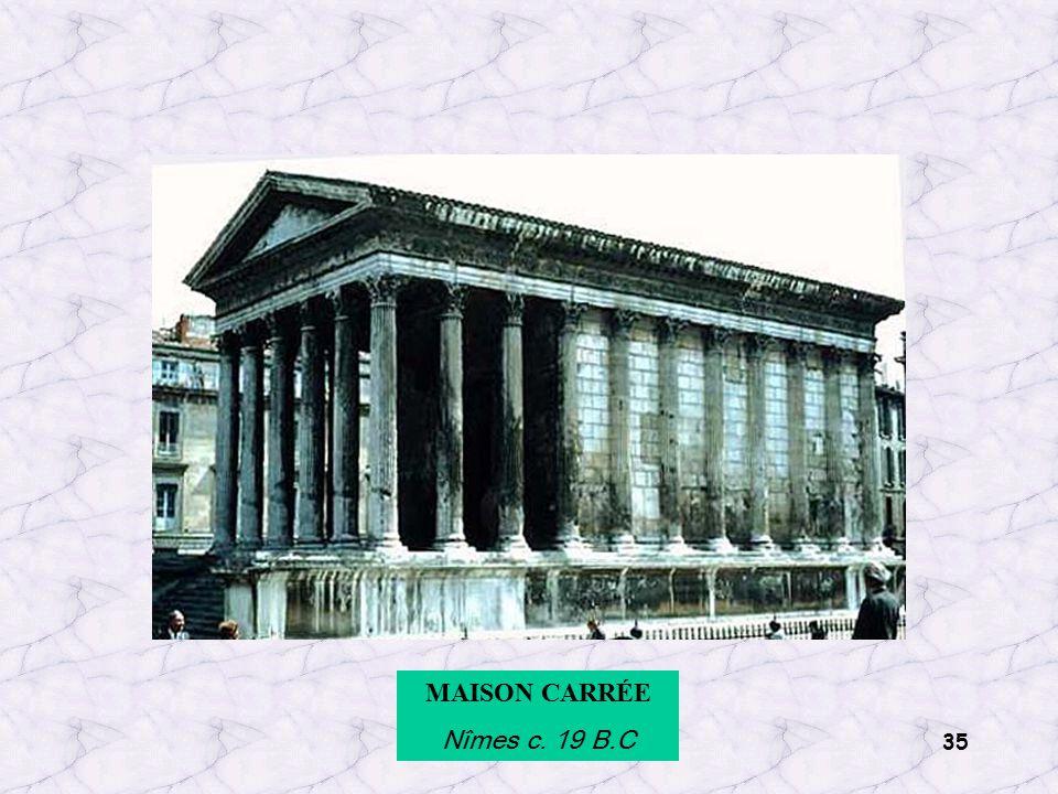 35 MAISON CARRÉE Nîmes c. 19 B.C