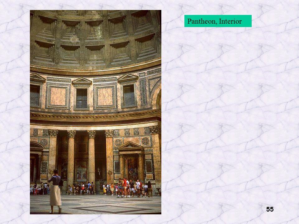 55 Pantheon, Interior