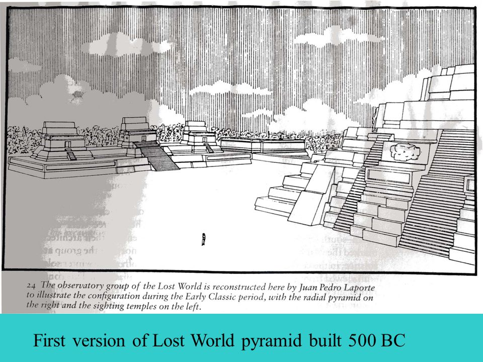 First version of Lost World pyramid built 500 BC