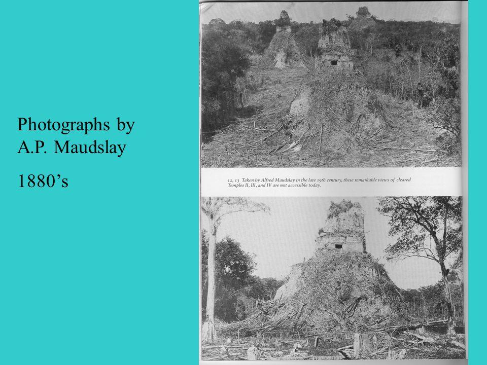 Photographs by A.P. Maudslay 1880's