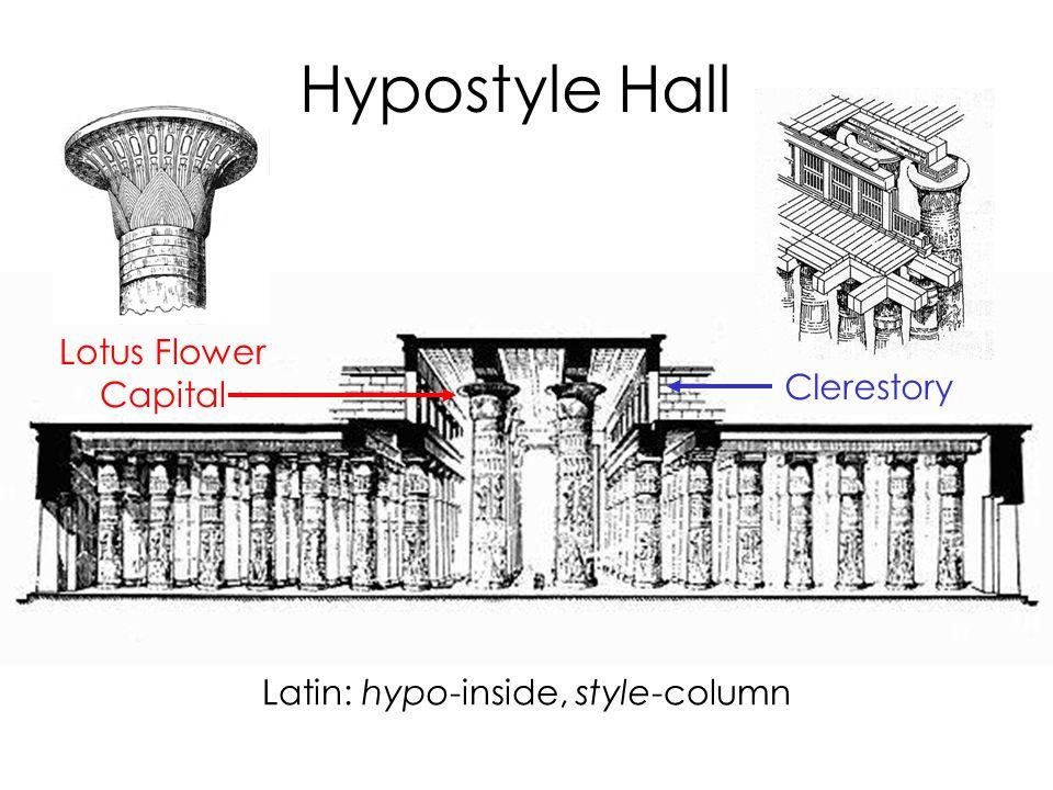 Hypostyle Hall: Nature's Grid NILE SUN