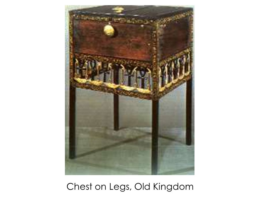 Chest on Legs, Old Kingdom