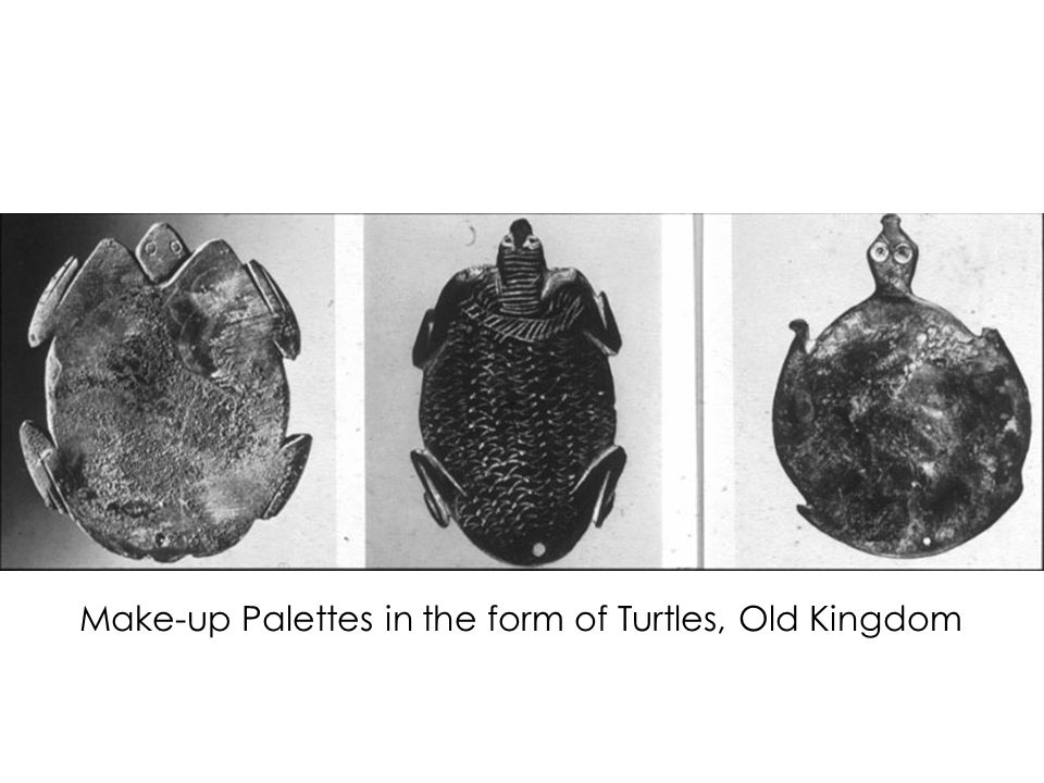 Make-up Palettes in the form of Turtles, Old Kingdom