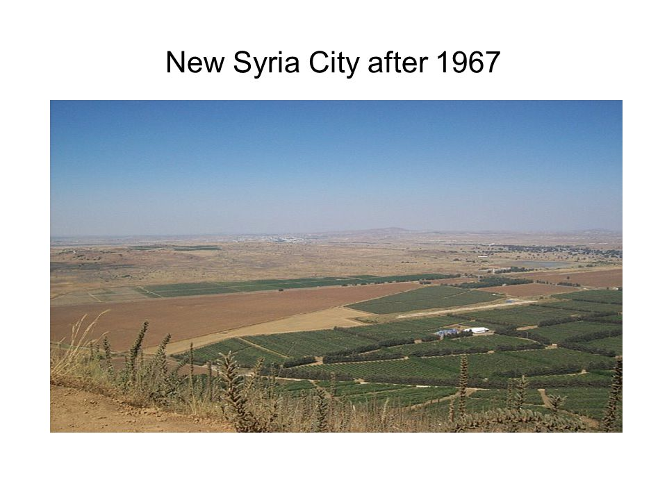 New Syria City after 1967