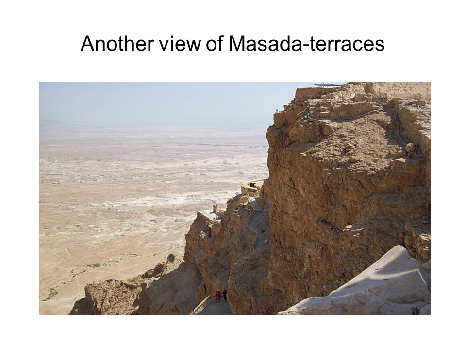Another view of Masada-terraces