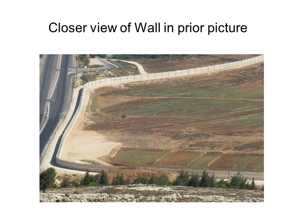 Closer view of Wall in prior picture