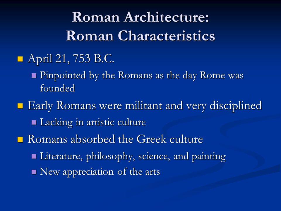 Roman Architecture: Roman Structures Roman Temples Roman Temples Temple of Jupiter Capitolinus Temple of Jupiter Capitolinus Originally built in the late sixth century B.C.